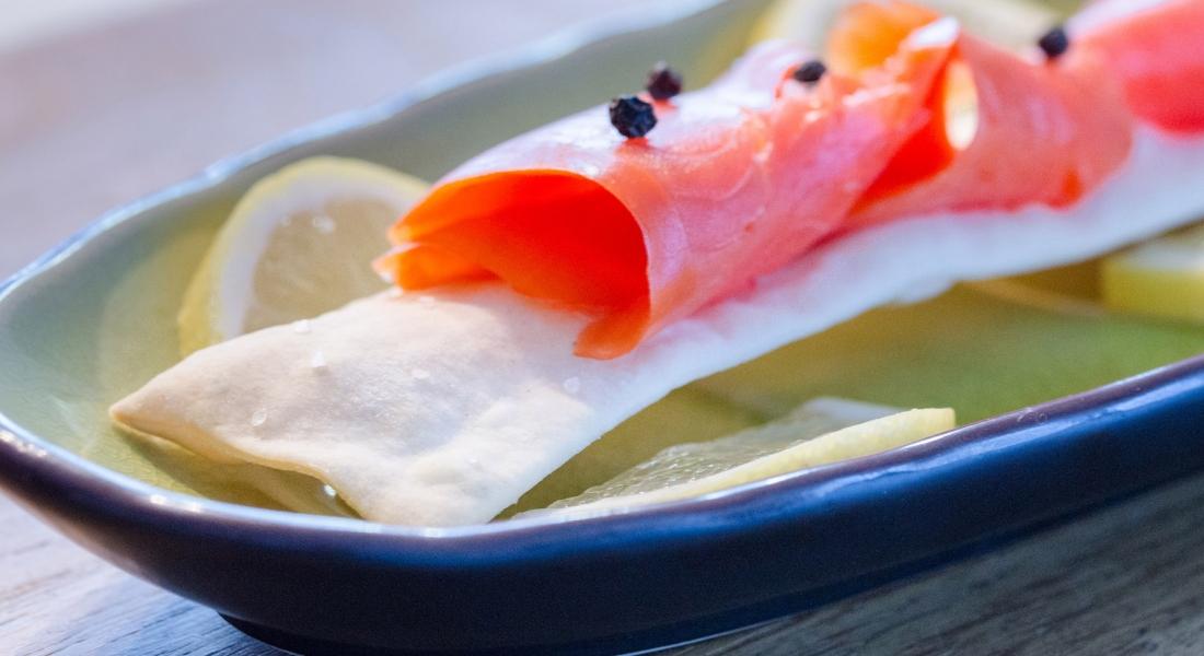 Ciabattine con salmone